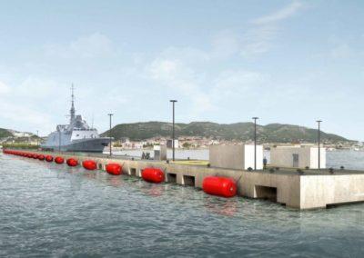 Appontement de la Base Navale de Toulon