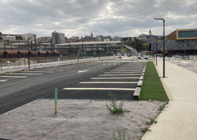 Parkings paysagers de la Gare d'Angoulème