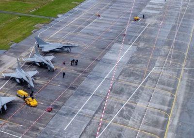 Refonte des réseaux d'assainissement de la base aéronavale de Landivisiau et nouvelle station d'épuration
